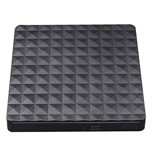Grborn USB 3.0 Tragbarer, ultradünner, externer optischer ODD - Caddy - DVD - Brenner - 5 - Gbit/s - für Notebook - Mobil - PC- Desktop - Apple - Notebook - Apple - All - in - One