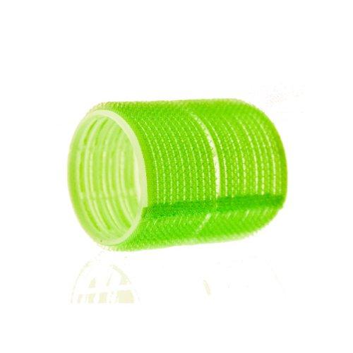 Hair Tools Rulos Con Cierre de Gancho y Ojo - 12 x 48mm - Verde Grande