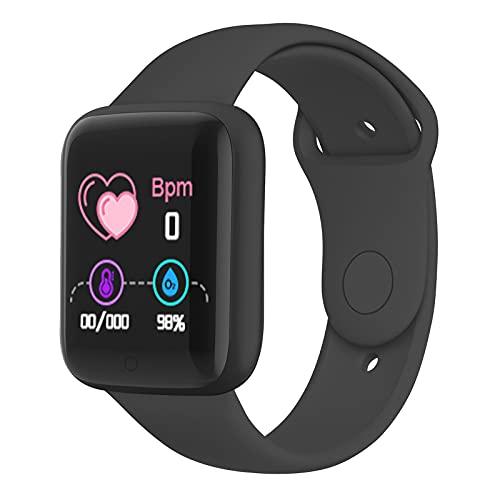 Flytise Fashion Multicolor Intelligent Watch Echtzeit-Monitor Multifunktionale BT Sports Wiederaufladbare intelligente Uhr