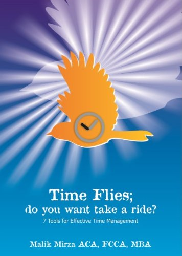 Time Flies - Do you want to take a ride? Tools for Effective time management (English Edition)