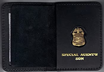 FBI Special Agent s Daughter ID Card Wallet  antique mini pin included