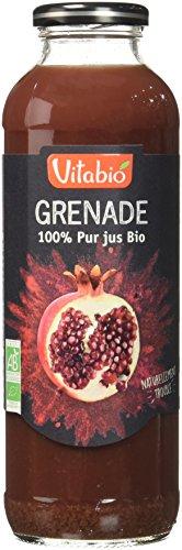Vitabio Pur Jus de Grenade Bio Naturellement Troube 50 cl - Lot de 6