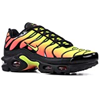 Nike Mujeres Air MAX Plus TN SE Running Trainers AQ9979 Sneakers Zapatos (UK 3 US 5.5 EU 36, Black Volt Solar Red 001)