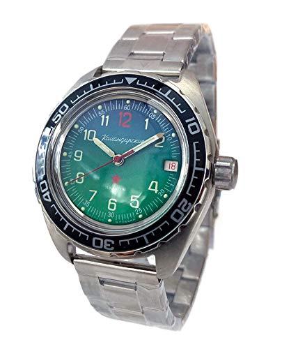 Vostok 2416/020711 Komandirskie Reloj de buceo automático de Rusia 200 m