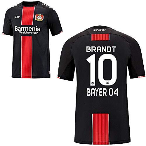 FanSport24 Jako Bayer 04 Leverkusen Fußball Home Trikot 2018 2019 Kinder Heimtrikot Brandt 10 Gr 164
