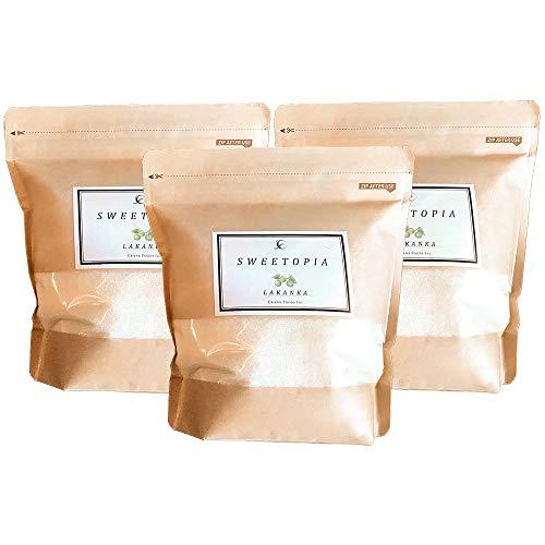 sweetopia(スイートピア) ラカンカ [ 800g×3個/甘味料/糖質ゼロ ] エリスリトール 糖質制限 カロリーゼロ 羅漢果 ダイエットシュガー ( 砂糖と同じ甘さ )