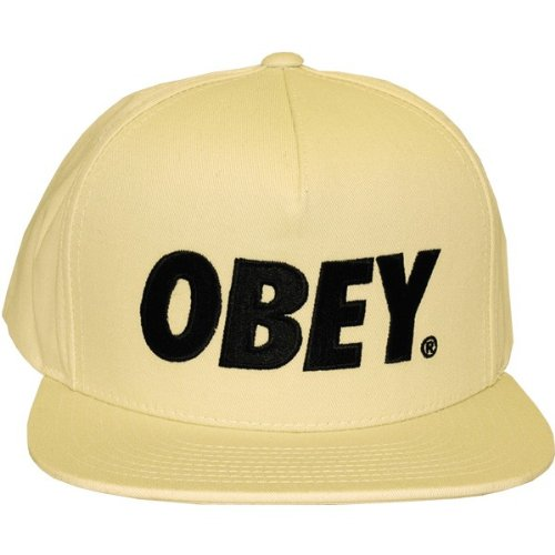 Obey - Casquette Snapback Homme The City - Natural