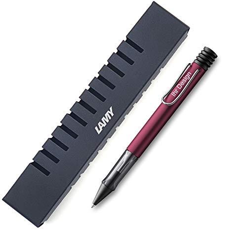 Lamy AL-star black purple Kugelschreiber Modell 229, mit Gravur (Lasergravur), V60