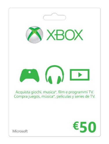 Microsoft - Xbox Live Tarjeta Regalo 50...