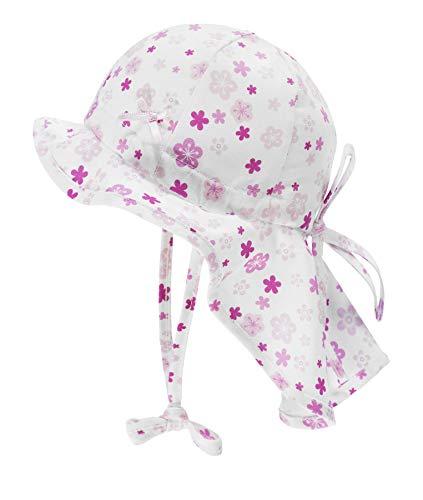 Döll Baby-Mädchen Nackenschutz Sonnenhut, Rosa (Pink Lady|Rose 2720), (Herstellergröße: 37)