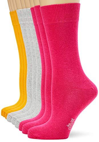 s.Oliver Socks Unisex Kinder S20031 Socken, golden Yellow, 35/38