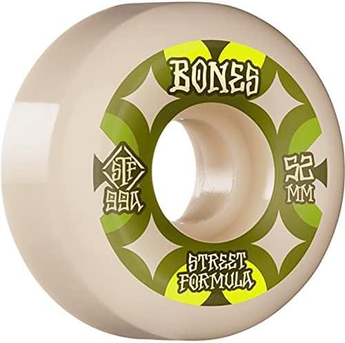 Bones Retros Now on sale V5 Sidecut STF 99a - Wheels 52mm Skateboard Purchase