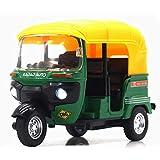TOOGOO Coches de Triciclo Indio de Alta SimulacióN Toy India Pull Back Light...