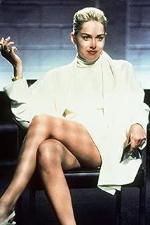 Sharon Stone Basic Instinct classic leg crossing scene 18x24 Poster