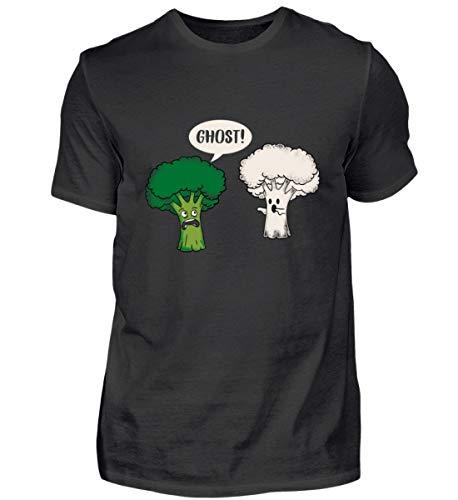 Lustig Brokoli Geist Ghost Blumenkohl Pflanze Geschenkidee - Herren Shirt