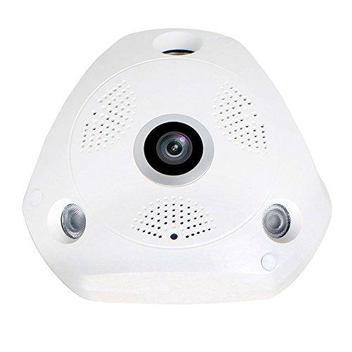 EDSSZ VR WiFi IP Dome Camera VR Panoramica Fisheye 360 gradi 1.3 Megapixel 960P HD Occhiali di rete VR Telecamera CCTV Giorno / Notte Vision EDS-VR960P
