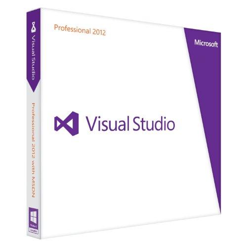 Vollversion Visual Studio Pro 2012 / Deutsch DVD