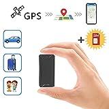 Mini Localizadores GPS, Jimi Real Antirrobo GPS Localizadores para Vehículos/niños con Seguimiento de Actividad Fuerte Imán Recargable GPS Tracker con Aplicación Gratuita para Android iOS AT2