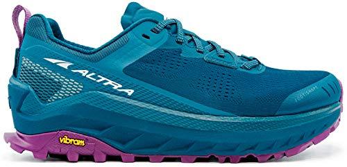 ALTRA Women's AL0A4VQW Olympus 4 Trail Running Shoe, Moroccan Blue - 8 M US