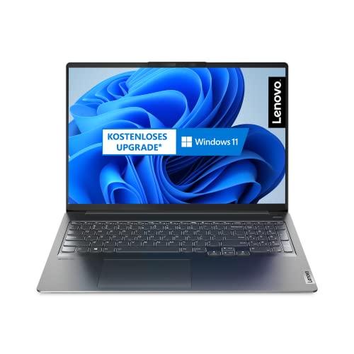 Lenovo IdeaPad 5 Pro 40,64 cm (16 Zoll, 2560x1600, WQXGA, WideView, entspiegelt) Slim Notebook (AMD Ryzen 5 5600H, 16GB RAM, 512GB SSD, AMD Radeon Grafik, Windows 10 Home) dunkelgrau