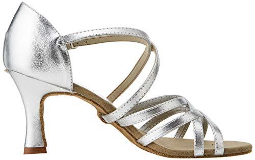 So Danca Damen Bl164 Standard-& Latintanzschuhe, Silber Silver, 37 EU - 7