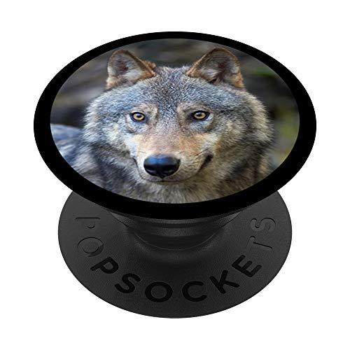 Wold en gris marrón y verde AFB1598 PopSockets PopGrip: Agarre intercambiable para Teléfonos y Tabletas