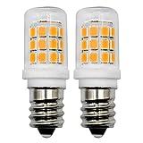 Bombilla LED E14, 2,5 W, 230 V CA, tamaño mini, para frigorífico/campana extractora, microondas, lámpara de piedra de sal (equivalente a 15 W, 20 W, 25 W, 2 unidades)