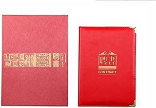 PLUME金辉文具通用证书礼盒A3带内芯/牛皮纹聘书证书
