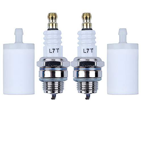 HAISHINE Kit de bujías de Filtro de Combustible para Husqvarna 50 51 55 61 268 268XP 272 272XP Motosierra