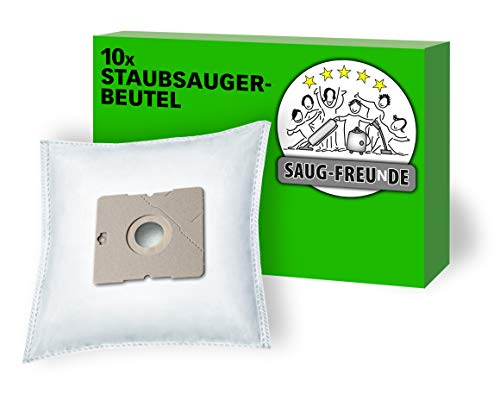 SAUG-FREUnDE I 10 Staubsaugerbeutel für AmazonBasics Bodenstaubsauger mit Beutel, 1,5L, Model No. VCB35B15C-1J7W-70, ASIN B07C3N686Y