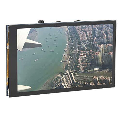 Esenlong Bildschirm IPS Kapazitiven Touchscreen LCD DPI Display Interface 4In 480X800 für Pi Modell B B 170 ° Betrachtung Winkel PCB Gehärtetem Glas