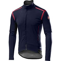 Material: [face fabric] Gore-Tex Infinium 205 Warm, [back panels] Gore-Tex Infinium 203 Light Season: spring, fall, winter Fit: form-fitting Length: hip, drop-tail hem Venting: zip at chest, removable sleeves