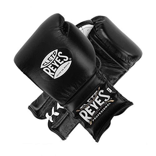 Cleto Reyes Kostenloser Boxhandschuhe Traditionelle Spitze Up Training Handschuhe schwarz von minotaurfightstore, 430 g