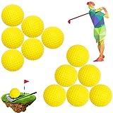 15pcsPráctica Pelota de Golf,Pelota Golf Espuma,Pelota de Golf PU, Práctica Suave Bola Entrenamiento PU para Deporte Interior Softball de Golf