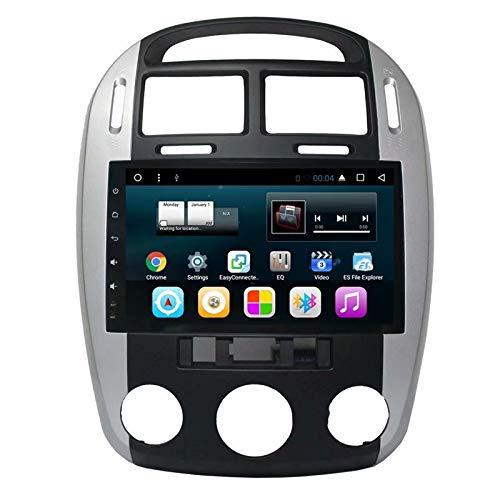 TOPNAVI 9 Pouces Android 7.1 Unité Centrale pour Kia Cerato 2007 2008 2009 2010 2011 2012 2013 2014 20105 2016 Radio Stéréo Navigation GPS WiFi 3G RDS Lien Miroir FM AM BT