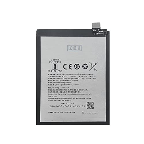 MeGgyc 1 Uds 3,85 V 3400 mAh reemplazo de celda de teléfono BLP 633 batería de Litio BLP633 baterías de Iones de Litio para OnePlus 3T (One Plus 3T / 1+ 3T) A3010