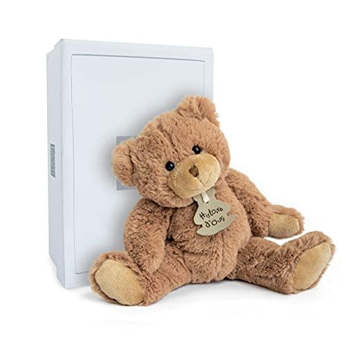 Histoire d'ours - Peluche Ours - 25 cm - Marron - Cadeau Enfant - Calin'ours - HO1155