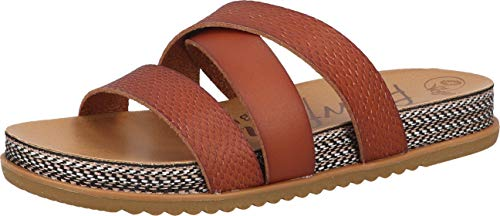 Blowfish Malibu Damen Frenchy-B Sandale, Scotch Multi, 41.5 EU