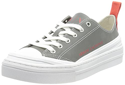 Armani Exchange Wonder Vulcanized Low Top with Rubber Toe & Heel, Sneaker Mujer