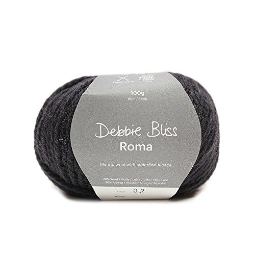 Debbie Bliss Roma, schwarz