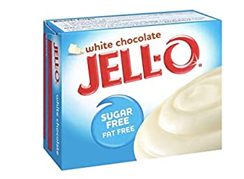 Jell-o Sugar-free Instant Pudding & Pie Filling White Chocolate,1 Ounce  Pack of 4