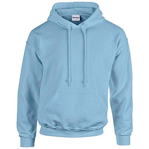 Gildan Men's Rib Knit Pouch Pocket Hooded Sweatshirt