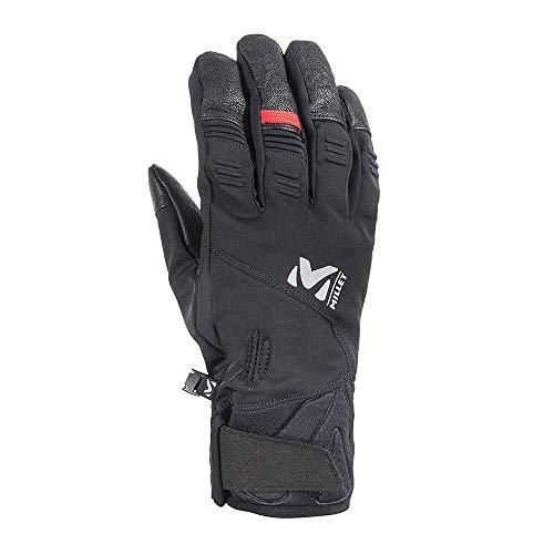 Millet - White Pro Glove - Gants de Ski - Imperméables et Ergonomiques - Ski, Ski de randonnée - Noir