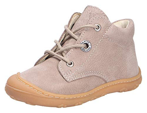 RICOSTA Unisex - Kinder Lauflern Schuhe Cory von Pepino, Weite: Schmal (WMS),Kleinkinder Kinder-Schuhe toben Spielen,kies,24 EU / 7 Child UK