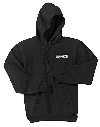 Norfolk Southern Pullover Hoodie Sweatshirt Black Adult S [32]