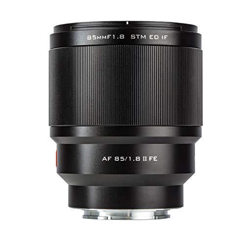 VILTROX PFU RBMH 85mm F1.8 II Porträt Objektiv STM Vollformat Autofokus für Sony E Mount Kameras a7 a7II a7III a7R a7RII a7RIII a7SII a9 a6400 a6500 a6300a