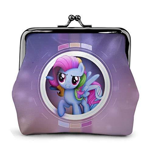 Pony Monedero Cartera Cartera El exquisito Bule Make Up Móvil Cambiador Cartera de Piel para Mujer Monedero