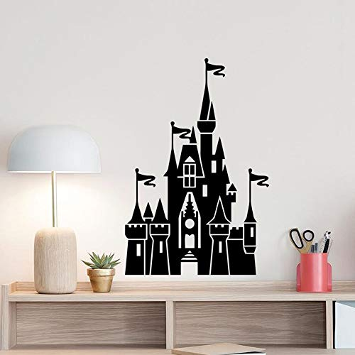 Castle Wall Stickers Poster Baby Room Vinyl Stickers for Kids Room Kids Decoration playroom Wall Art Girls Boys Bedroom Decoration N