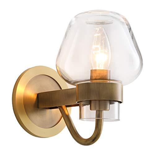 Luminaires & Eclairage / Luminaires intérieur / Ap Plein de cuivre lampe de mur en verre salon personnalité chambre chevet étude américaine simple miroir atmosphérique phares A+