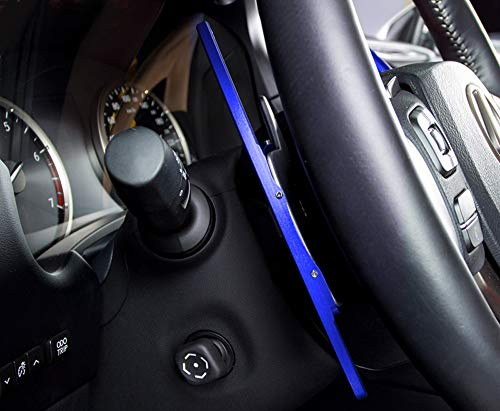 LIUYE Aluminum Alloy Steering Wheel Shift Paddle Shifter Extension Fit for Lexus IS200t IS200 IS250 IS300 IS350 is-F,NX200t NX300 NX-F,RC200t RC300 RC350 Black
